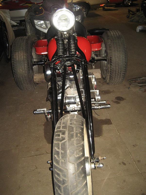 1960 Harley Davidson Trike9.12.201703