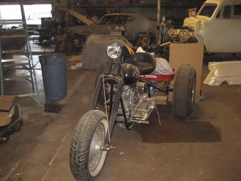 1960 Harley Davidson Trike9.12.201706