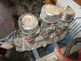 Vintage 3X2s for 1949 to 53, Ford Edelbrock polished intake, Ford carbs EAB 94 $1250