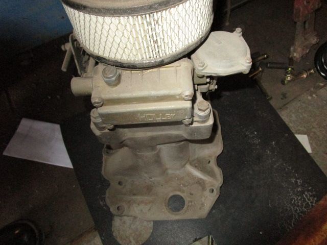 Chevy BB Oval Port Tunnel Ram with carbs (3)