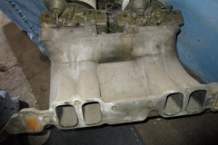 Chevy BB Oval Port Tunnel Ram with carbs (4)